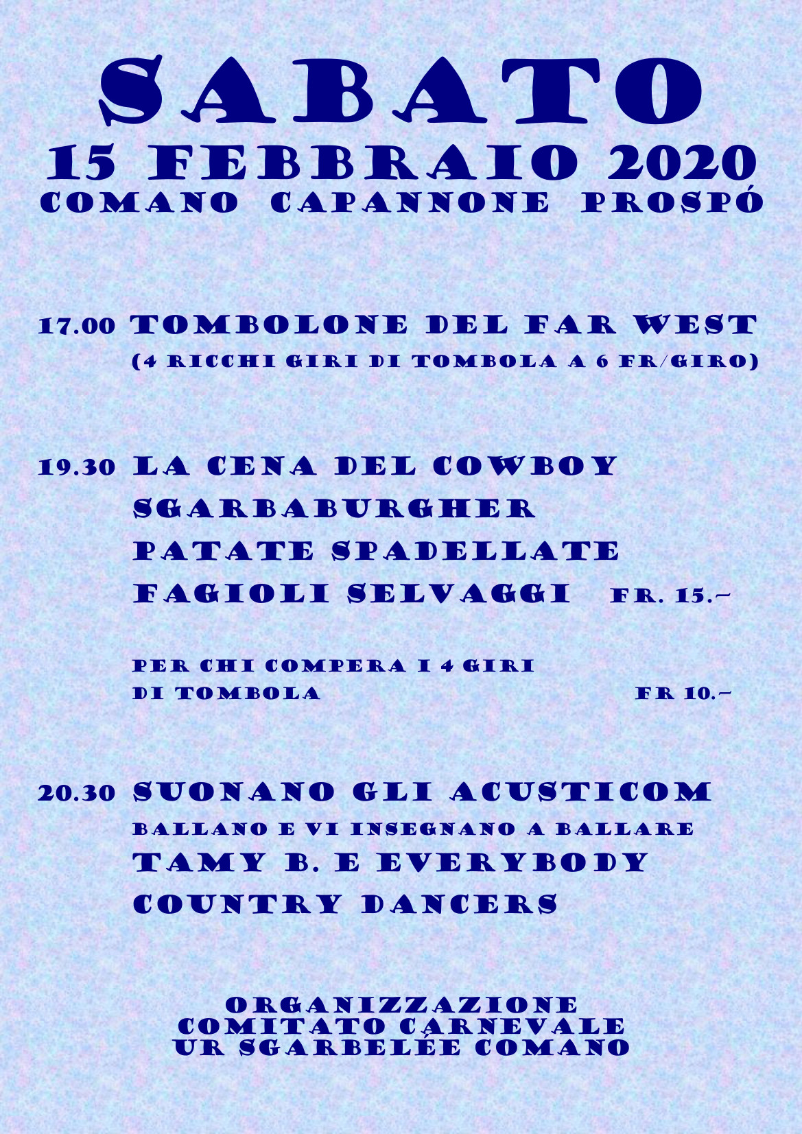 programma country